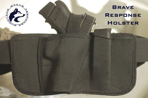 Brave Response Holster: This IWB holster is revolutionizing the way we think of concealed guns.