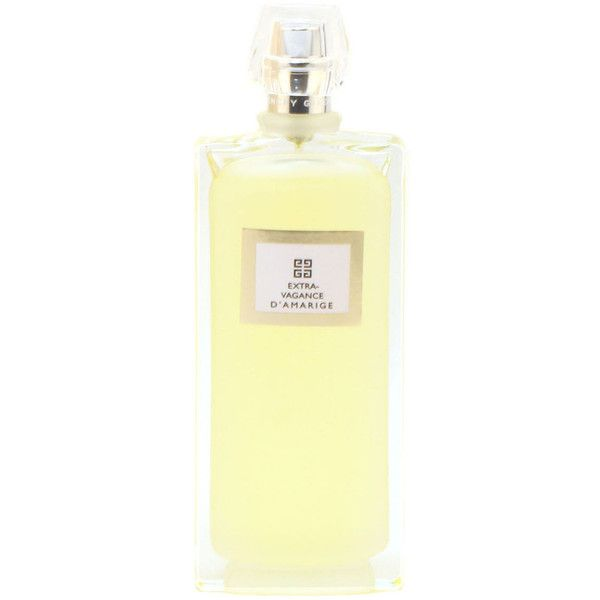 Givenchy Extravaganza D'Amarige Ladies by Givenchy Eau De Toilette... ($49) ❤ liked on Polyvore featuring beauty products, fragrance, no color, flower perfume, givenchy, givenchy fragrance, blossom perfume and givenchy perfume