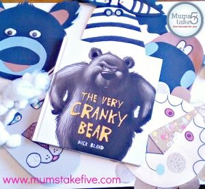 39 The Very Cranky Bear 39 Masks for