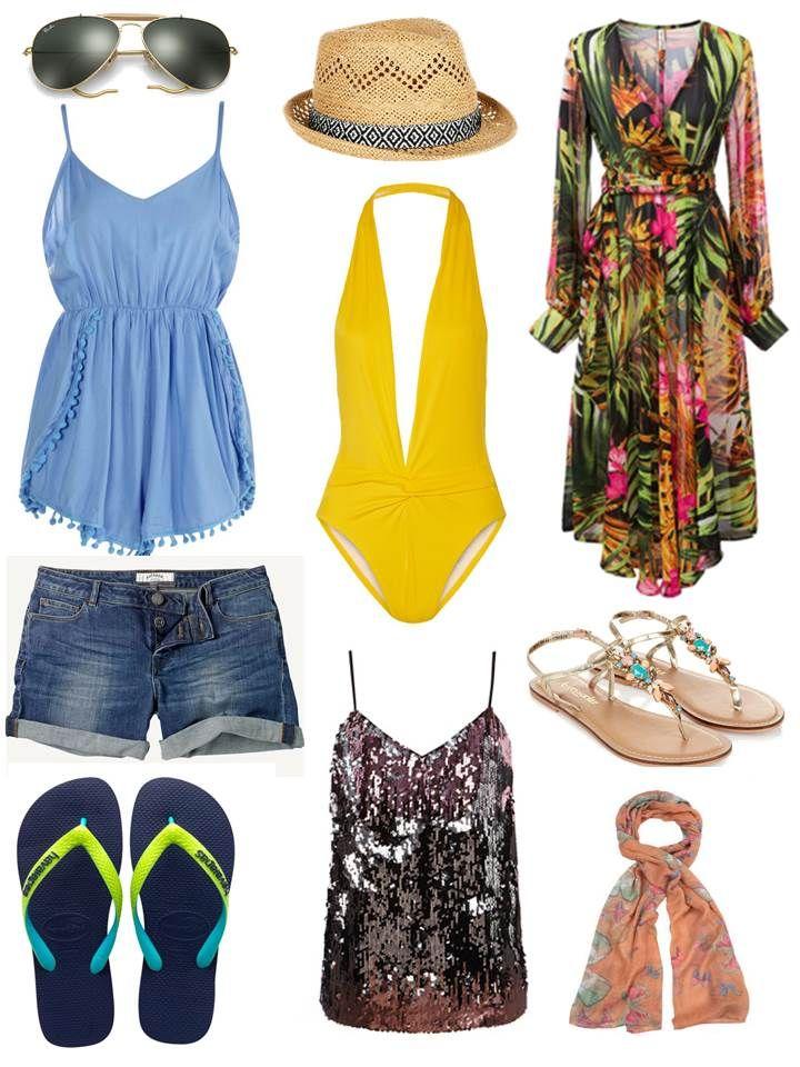 Long weekend away packing - Ibiza essentials