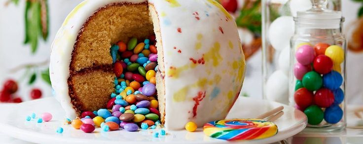 Wonkas Giant Gobstopper Cake (Written Instructions Only)