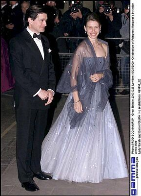 Lady Sarah Chatto (daughter of Princess Margaret and her husband Lord Snowdon) and Daniel Chatto