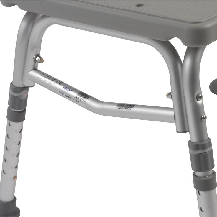 Drive Medical Plastic Transfer Bench with Adjustable Backrest ...