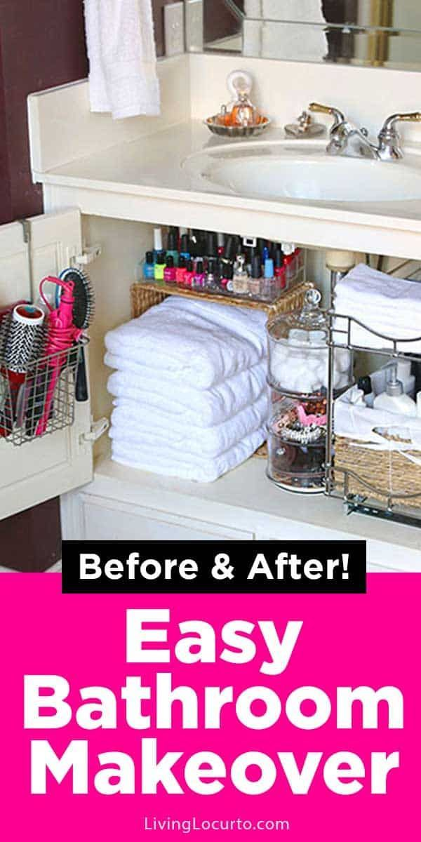 quick organizing ideas for your bathroom with images
