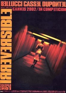 """""""Irreversible"""" is the masterpiece of French madman Gaspar Noe - a film that runs in reverse (remember """"Memento""""), unravelling a story so sinister and disturbing that your skin rolls up. The emotions you feel as an audience member are very intense, and the film's pacing and style is really unique - with a great cast, this film is a must see for all film students. Watch out: This film is not for kids."""