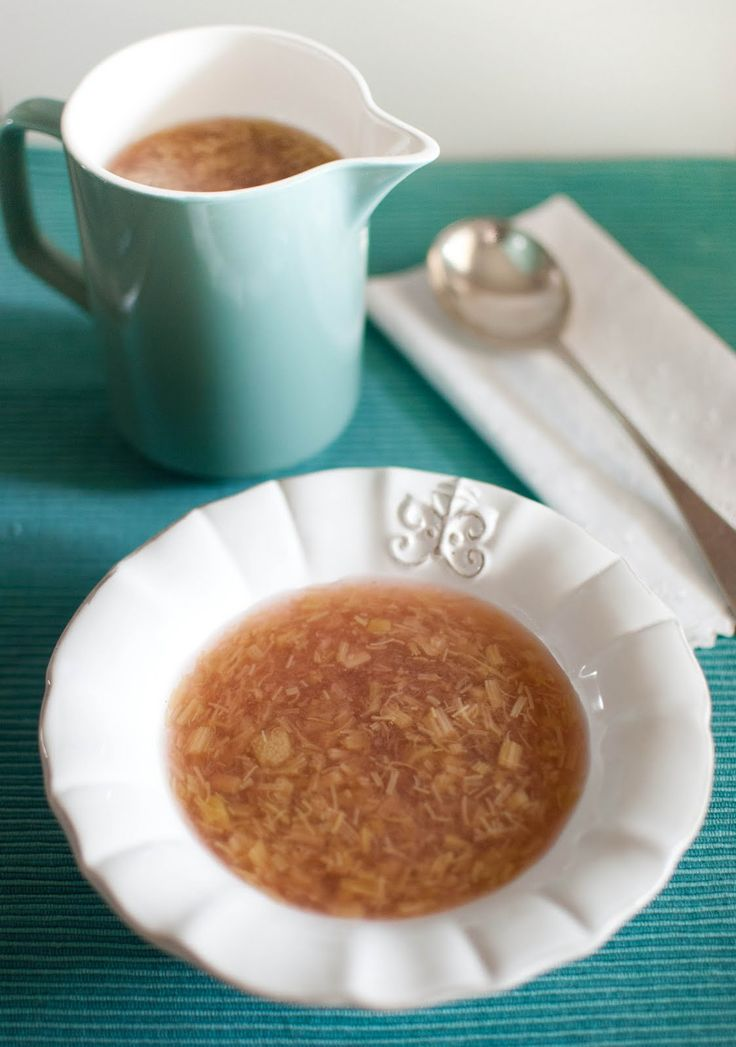 Scandi Home: Finnish Rhubarb Soup
