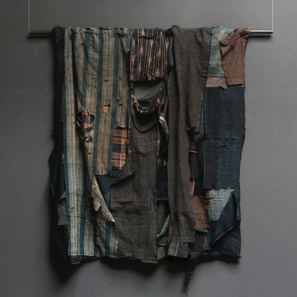 Japanese Boro in Antique Kimonos and Japanese Textiles