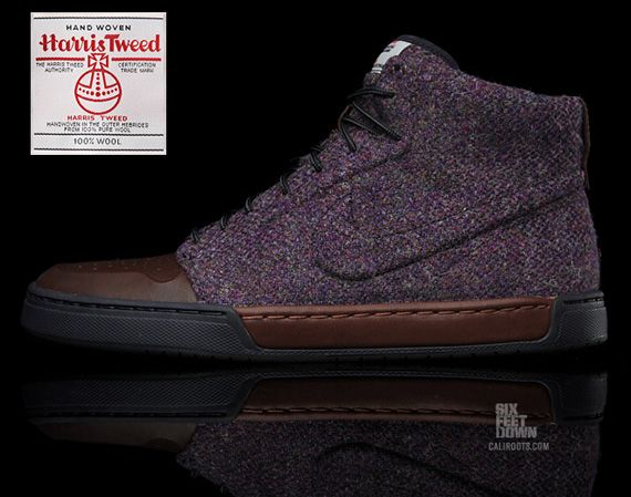 Nike Air Royal Mid Harris Tweed
