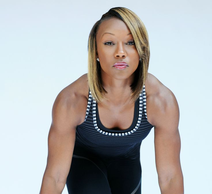Quick fit tips from Olympic medalist and fastest woman alive, Carmelita Jeter.