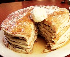Mmm-hmm. | Community Post: 13 GIFs And Recipes For Those Lacking Pancakes In Their Lives