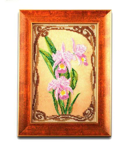 Кроше (Радуга бисера) В-416 Грациозные орхидеи, набор для вышивки