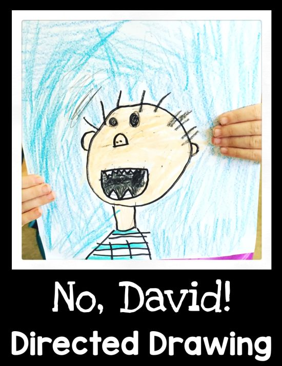 No, David! Directed Drawing - First Grade Blue Skies                                                                                                                                                                                 More
