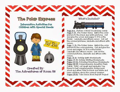 The Polar Express Book of the Month