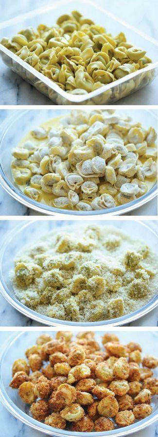 Parmesan Tortellini Bites | Cookboum