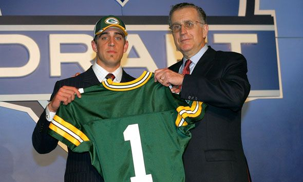 Aaron Rodgers...Draft Day