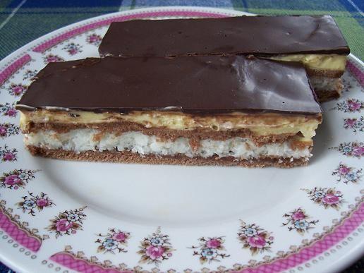 Bounty szelet II. - Andi konyhája - Sütemény és ételreceptek képekkel