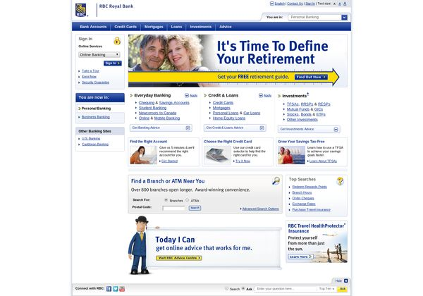 Http Www Rbcroyalbank Com Via Url2pin Banking Services Banking Financial Services