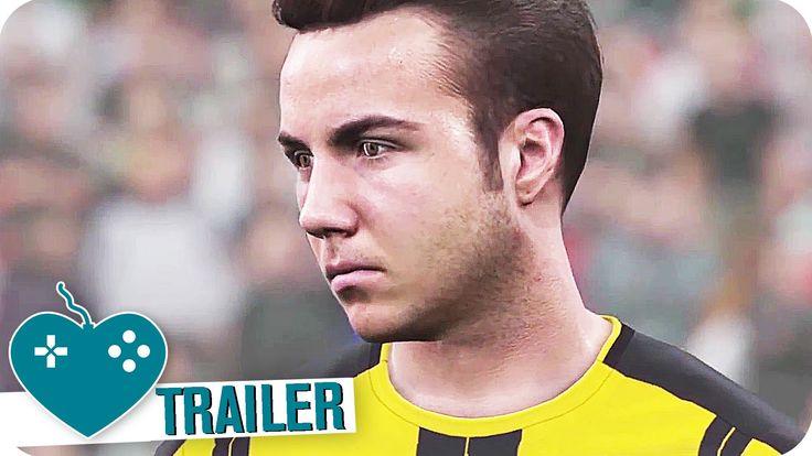PES 2017 Gamescom Trailer (2016) PS4, Xbox One, PC Game