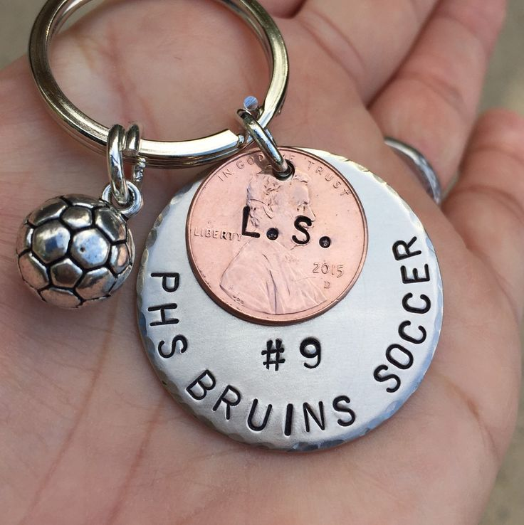 Soccer Gift, Christmas Gift, High School Sports Keychain, Volleyball Keychain, Personalized High School Sport Keychain, Football by natashaaloha on Etsy