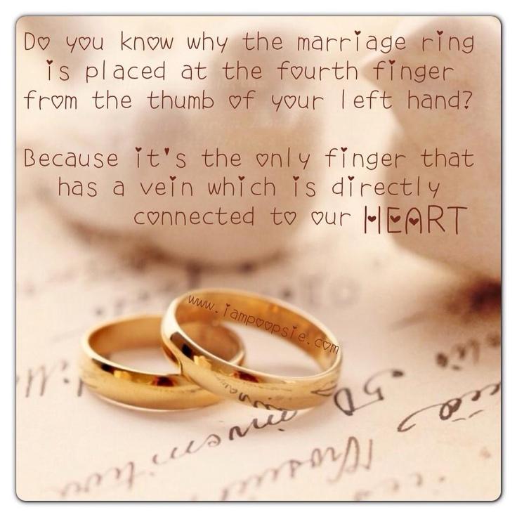 choosetobemoreloving Penn Foster Wedding rings quotes