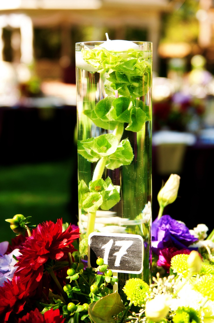 Centerpieces our wedding rustic elegance pinterest Elegance decor