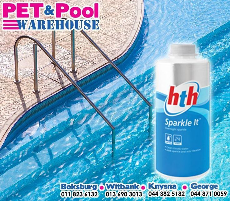 HTH® Sparkle It clears suspended materials, cloudy water, aids filtration and adds sparkle to your pool all through the year. Get yours at #PetPool Warehouse today! #HTH #pools
