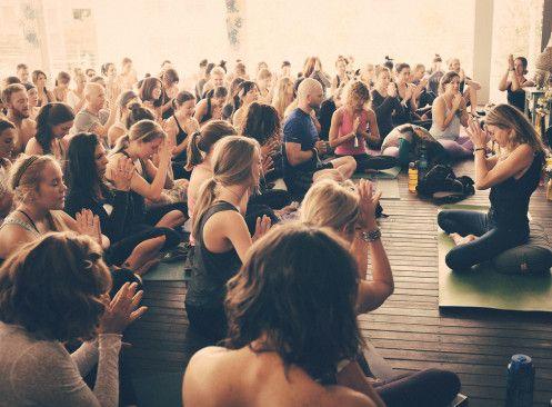 Yoga Class at Wanderlust Yoga Austin