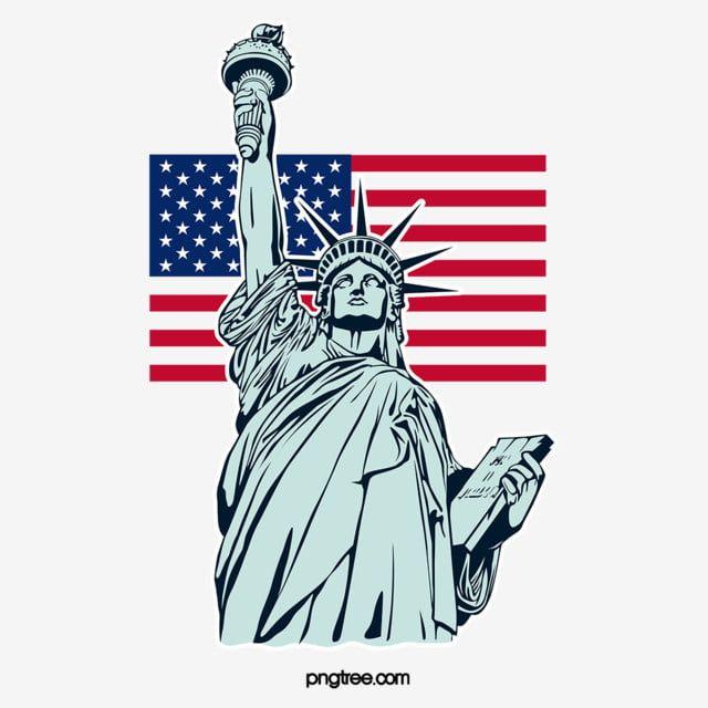 Estatua De La Libertad Estatua De La Libertad Clipart Realismo Silueta Png Y Vector Para Descargar Gratis Pngtree Estatua De La Libertad Estatuas Bandera De Estados Unidos