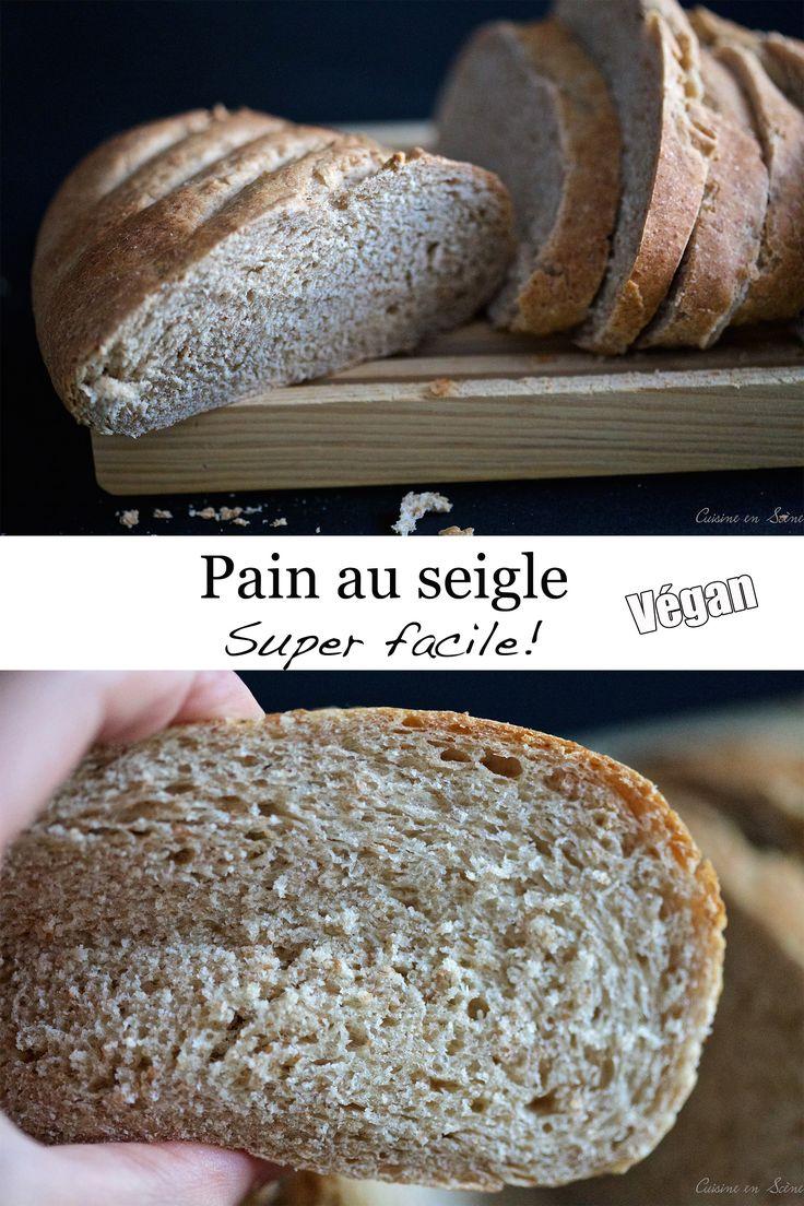 Pain au seigle super facile (végan) | Cuisine en Scène, le blog cuisine de Lucie Barthélémy - CotéMaison.fr