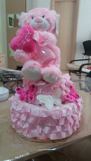 DiaperCake for girl