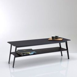 Hiba Two-Tier Metal Coffee Table La Redoute Interieurs - Coffee Tables & Side Tables
