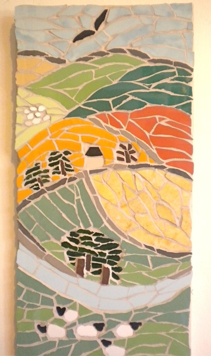 Funky Wall Mosaic Ideas Gift - Art & Wall Decor - hecatalog.info