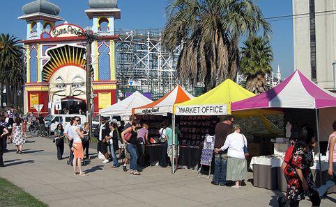 The Esplanade Market St Kilda - Shopping - Sunday