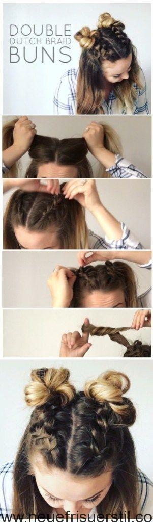60 EINFACH 5 MINUTEN KURZE FRISUR IDEEN FÜR VIELBESCHÄFTIGTE DAMEN – Neue Friseur Stil – Frisuren Best