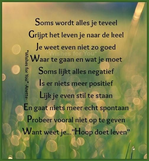 Citaten Over De Hoop : Best images about gedichtjes on pinterest sweet love