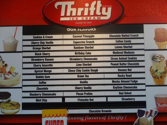 thrifty ice cream flavors | Pam's shop! | Pinterest ...