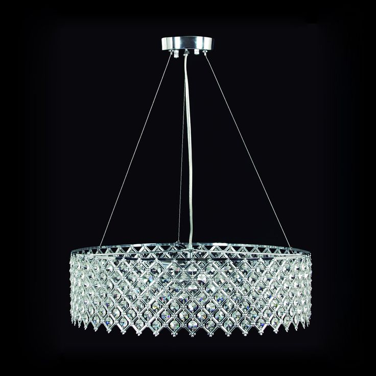 Photo Gallery For Website Gen Lite Tiara Chandelier This Gen Lite Industries Chandelier is available in a chrome finish Illuminated by three clear incandescent ca u Lowes