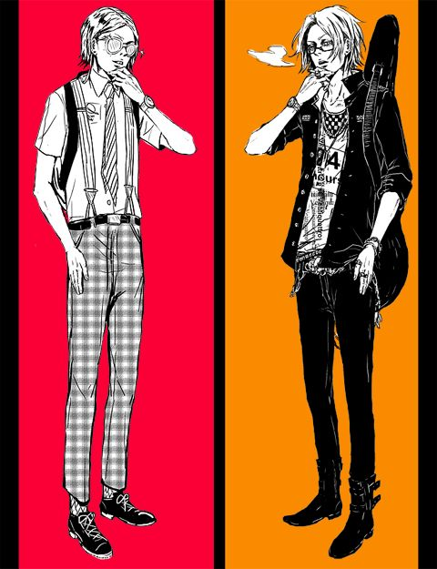 two sides by shibakaien.deviantart.com on @deviantART