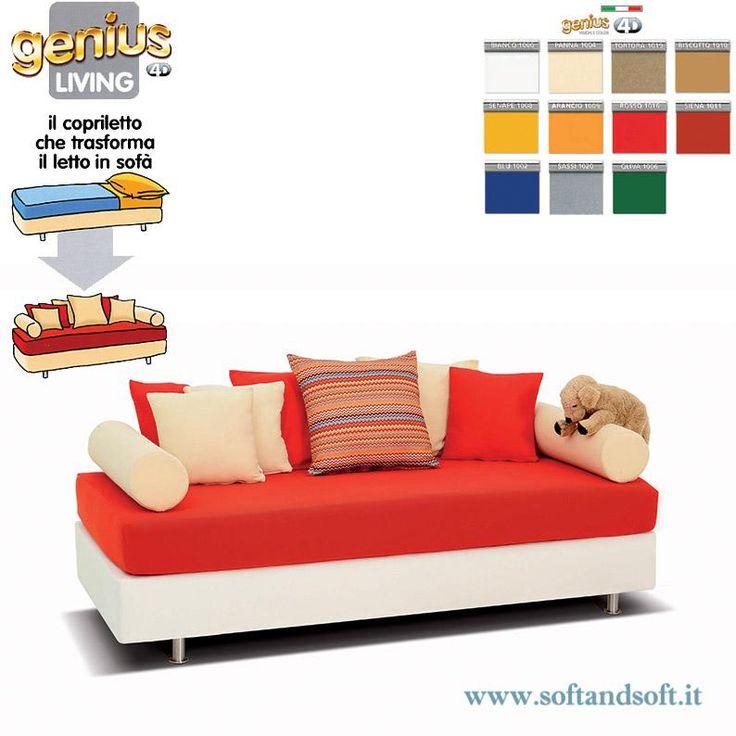Oltre 25 fantastiche idee su copridivani su pinterest copri divano e fodere - Divano letto comodo per dormire ...