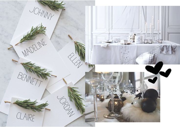 ✎ Blogpost - Tafeltje dekje - Mooiste Kersttafel ❥