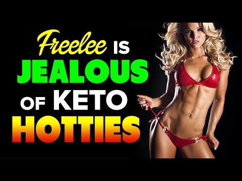 Freelee the Banana Girl is Jealous of Low-Carb Keto Hotties - YouTube