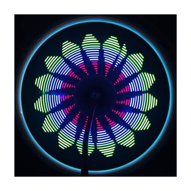 Esta luz #LED para las ruedas de tu #bicicleta te permitirá andar mucho más seguro... ¡Envíos en 48 horas! #gadgets #luzled #bike #deporte #sport #technology #gadgetstecnology #coolgadgets #accesoriosbicicleta