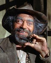 Jack Elam. Man I love him. He's perfect in comedian roles. Great actor.