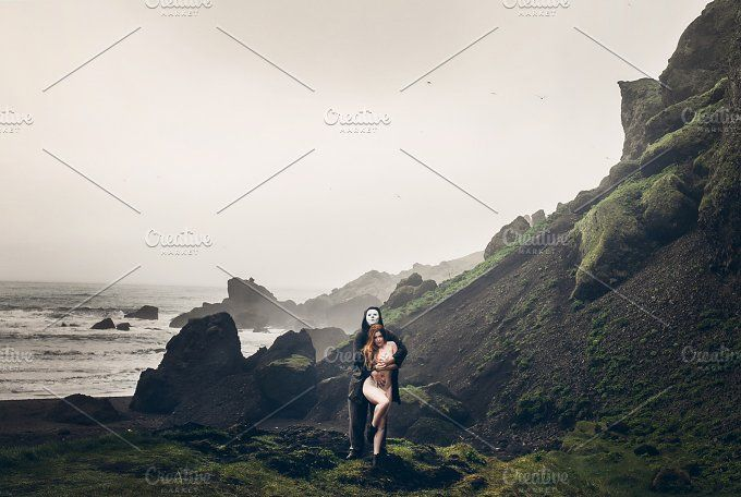 Couple in Iceland by Krisp_Krisp on @creativemarket