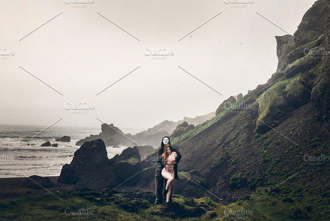 Couple in Iceland by Krisp_Krisp on @creativemarket