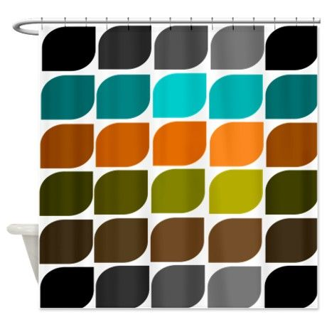 Best 25+ Midcentury Shower Curtains Ideas On Pinterest | Midcentury Curtain  Rods, Midcentury Shower Curtain Rods And Mermaid Tile