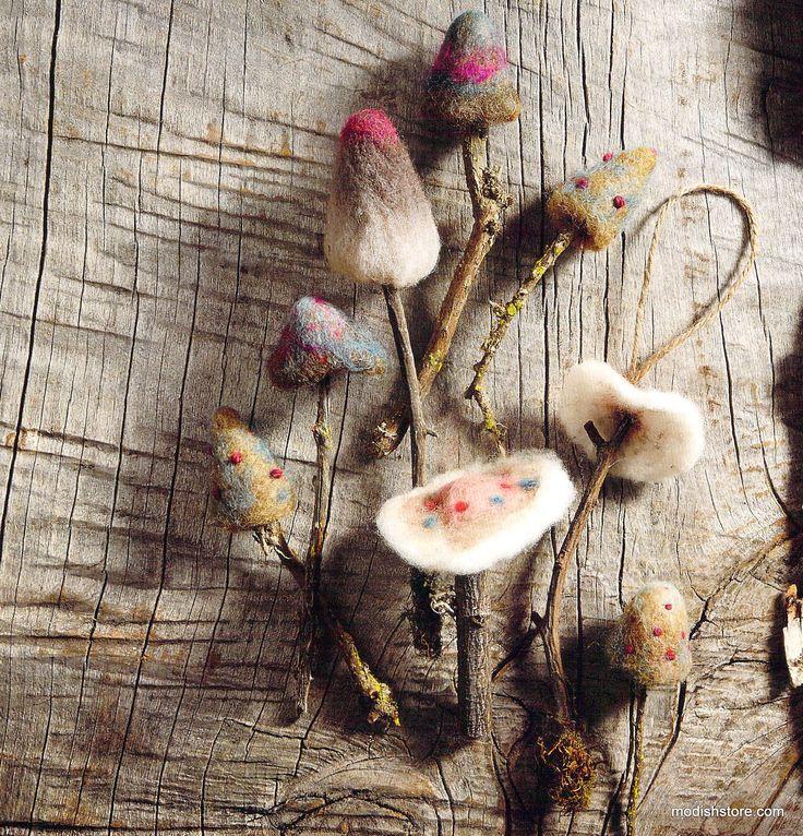 http://www.modishstore.com/products/woodland-felt-mushroom-ornaments?utm_campaign=Pinterest Buy Button