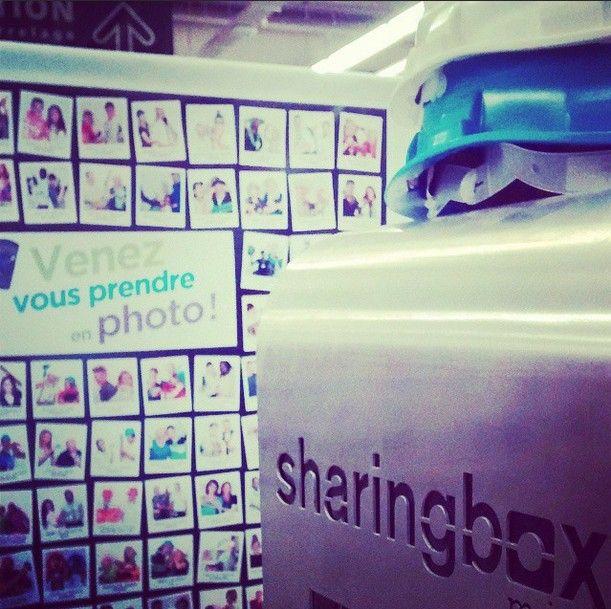 idée tableau photo avec sharing box