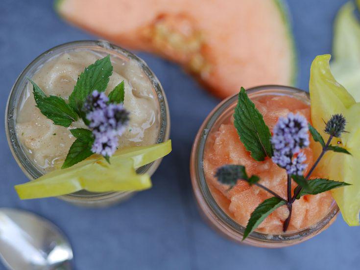 Melonen Slush – die gesündeste Erfrischung der Welt!