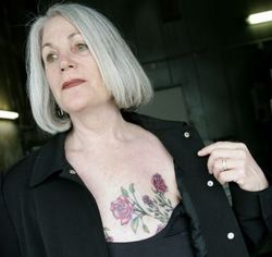 Borst tatoeage 2